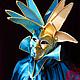 """Интерьерные  маски ручной работы. Маска Джокер """"Венецианский плут"""" (veneziano dodger). Рука Солнца   *авторские маски*. Интернет-магазин Ярмарка Мастеров."""
