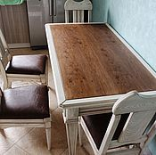 Для дома и интерьера handmade. Livemaster - original item Dining group (oak and ash). Handmade.