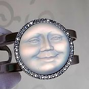 Винтаж handmade. Livemaster - original item Dreaming Moon Bracelet,Kirks Folly,USA,Cuff. Handmade.