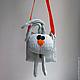 Сумка зайчик - маленькая сумочка через плечо, Женские сумки, Москва, Фото №1