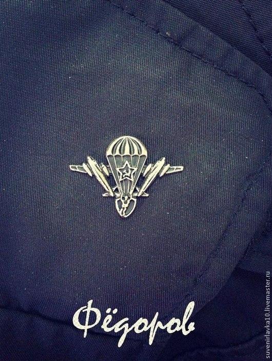 Пример на куртке