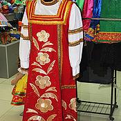 Одежда ручной работы. Ярмарка Мастеров - ручная работа Русский народный  костюм  Светик 2. Handmade.
