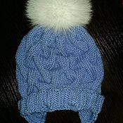 Работы для детей, ручной работы. Ярмарка Мастеров - ручная работа Детская вязанная шапочка. Handmade.