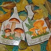 Для дома и интерьера ручной работы. Ярмарка Мастеров - ручная работа по грибы. Handmade.