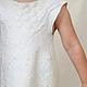 Одежда для девочек, ручной работы. Ярмарка Мастеров - ручная работа. Купить Нежное детское платье. Handmade. Белый, шерстяное платье