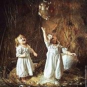 Работы для детей, ручной работы. Ярмарка Мастеров - ручная работа крестильное платье АЛЁНУШКА(И)). Handmade.