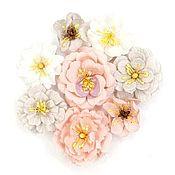 Цветы искусственные ручной работы. Ярмарка Мастеров - ручная работа Цветы для скрапбукинга Prima Marketing Cherry Blossom - Thea. Handmade.