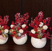 Свадебный салон ручной работы. Ярмарка Мастеров - ручная работа Свадебные декоративные букеты на стол (сдается напрокат). Handmade.