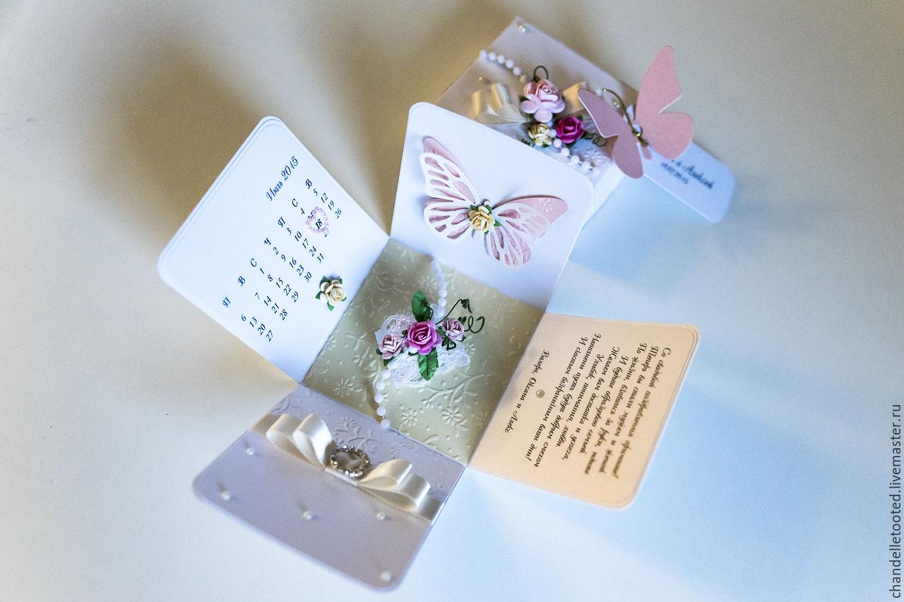 Buy Handmade Card Box Wedding Birthday