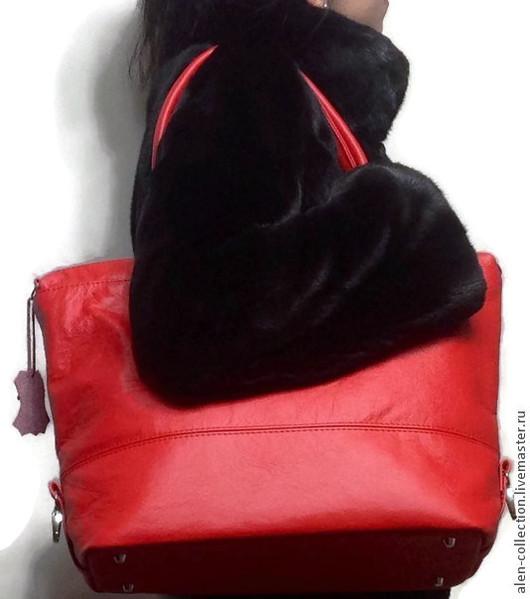 Женские сумки ручной работы. Ярмарка Мастеров - ручная работа. Купить Сумка из натуральной кожи(Арт.S-8). Handmade.