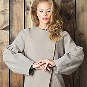 Одежда ручной работы. Ярмарка Мастеров - ручная работа Пальто Агнес 4251178. Handmade.