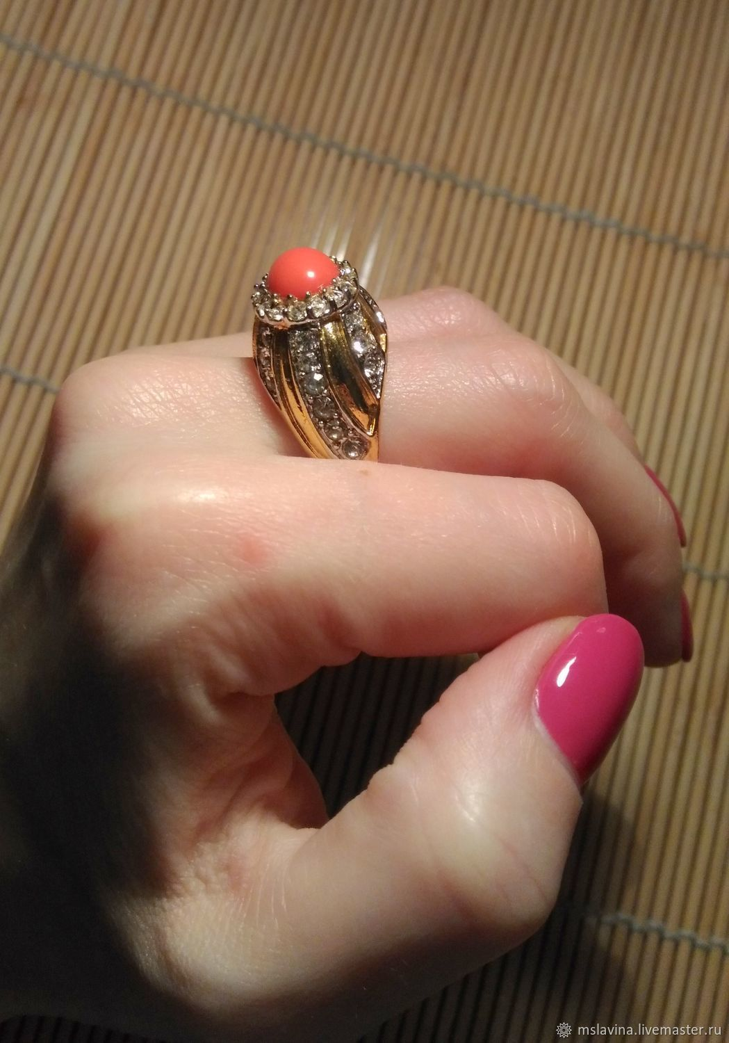 Ring Cellini vintage, rare, Vintage ring, Moscow,  Фото №1