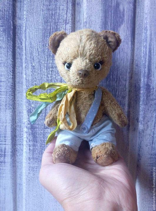 Мишки Тедди ручной работы. Ярмарка Мастеров - ручная работа. Купить Мишка Уилки. Handmade. Бежевый, мишка