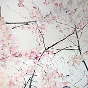 Картины и панно handmade. Livemaster - original item Oil painting Spring 80h100 cm. Handmade.