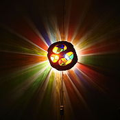 """Для дома и интерьера ручной работы. Ярмарка Мастеров - ручная работа лампа """"Затмение солнца"""". Handmade."""