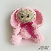 Куклы и игрушки ручной работы. Ярмарка Мастеров - ручная работа Пупсик-Зайка. Handmade.