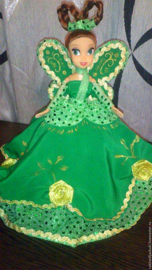 Персональные подарки ручной работы. Ярмарка Мастеров - ручная работа. Купить кукла-шкатулка. Handmade. Зеленый, кукла ручной работы
