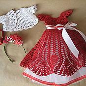 Куклы и игрушки ручной работы. Ярмарка Мастеров - ручная работа наряд для куклы.. Handmade.