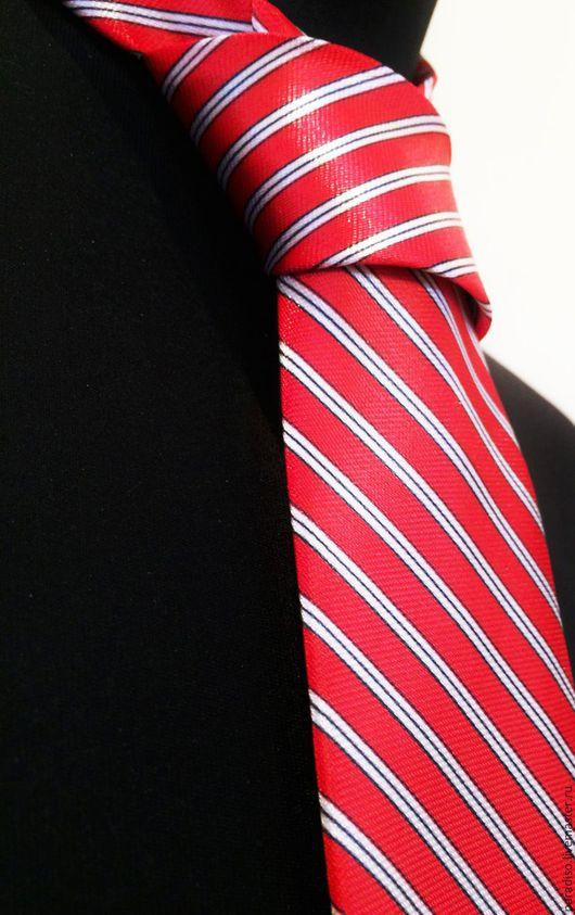 Галстуки, бабочки ручной работы. Ярмарка Мастеров - ручная работа. Купить ГАЛСТУК ДОНАЛЬДА ТРАМПА красный мужской галстук из шелкового атласа. Handmade.