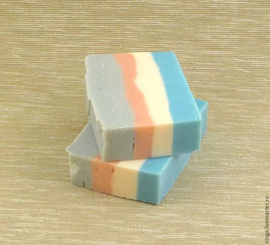 Мыло ручной работы. Ярмарка Мастеров - ручная работа. Купить Пастель - мыло натуральное. Handmade. Разноцветный, розовый, ванная