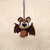 Куклы и игрушки ручной работы. Ярмарка Мастеров - ручная работа Маленький летучий мыШ. Handmade.