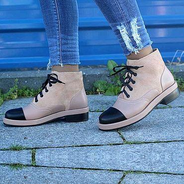 Обувь ручной работы. Ярмарка Мастеров - ручная работа Ботинки 339. Handmade.