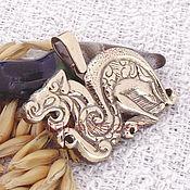 Фен-шуй и эзотерика handmade. Livemaster - original item Scythian Dragon amulet 2 talisman amulet made of metal. Handmade.