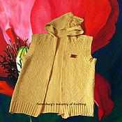 Одежда handmade. Livemaster - original item vest with kapustnom for a boy. Handmade.