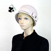 Аксессуары handmade. Livemaster - original item Stylish lady`s hat. 100% wool.. Handmade.