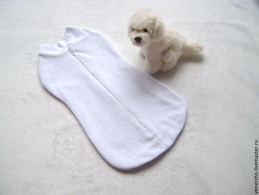 """Для новорожденных, ручной работы. Ярмарка Мастеров - ручная работа. Купить Пеленка-кокон """"Теплая снежность"""". Handmade. Белый"""