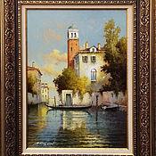 Картины и панно handmade. Livemaster - original item morning in venice. 35h50 cm. canvas oil.. Handmade.