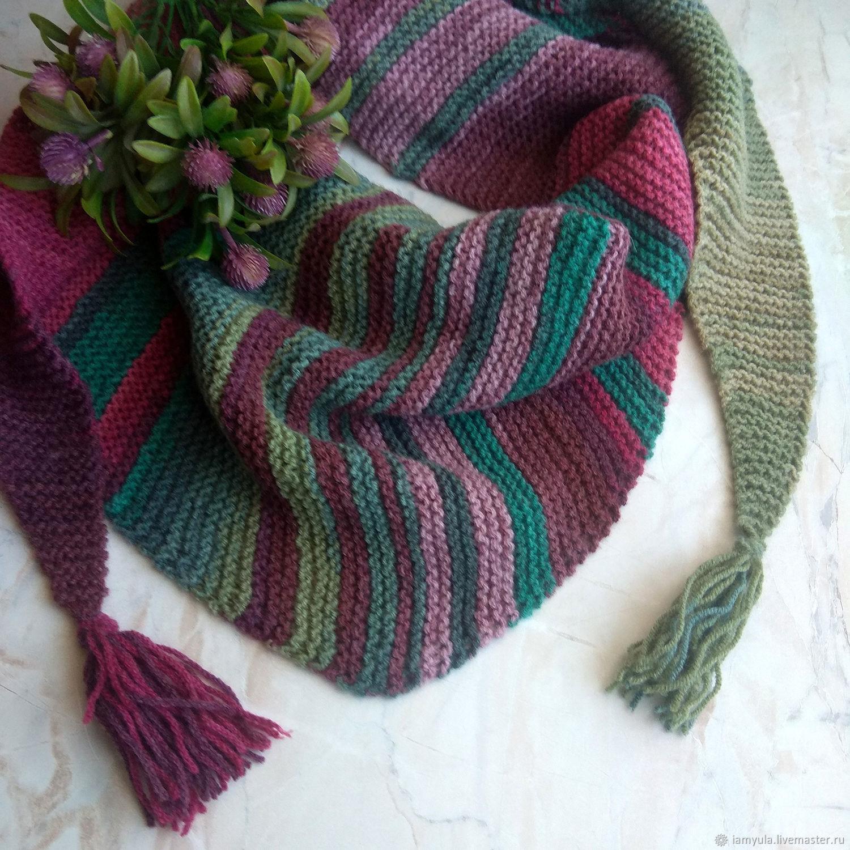 Bactus knitted ' Autumn garden', Bactus, Naberezhnye Chelny,  Фото №1