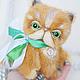 Мишки Тедди ручной работы. Котик породы экзот Fluffy коллекционная авторская игрушка мишка тедди. Даша Дударева. Ярмарка Мастеров.