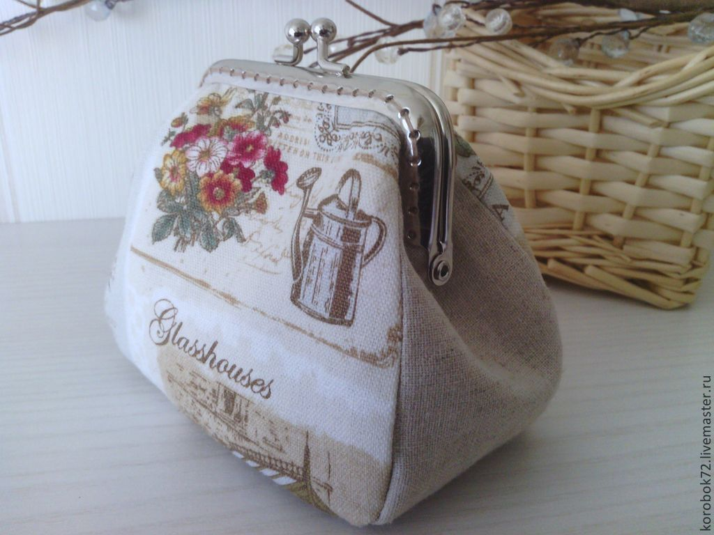 Cosmetic bag with clasp, Beauticians, St. Petersburg,  Фото №1