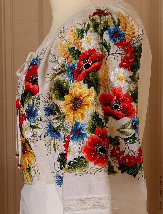 Купить Вышитая Блузка