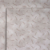 Материалы для творчества ручной работы. Ярмарка Мастеров - ручная работа Ткань для пэчворка Love. Heart. Joy. Handmade.