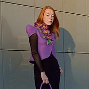 """Одежда ручной работы. Ярмарка Мастеров - ручная работа Жакет женский """"Великолепие орхидей"""". Handmade."""