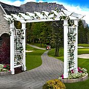 Дача и сад handmade. Livemaster - original item GARDEN arch, pergola in the VICTORIAN STYLE model no. 4. Handmade.