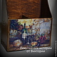 """Корзины, коробы ручной работы. Ярмарка Мастеров - ручная работа. Купить Короб для вина """"Винный погребок"""" (на 2 бутылки). Handmade."""