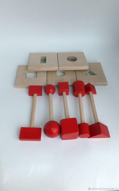 Puzzle wood Locksmith, Toys, Moscow, Фото №1