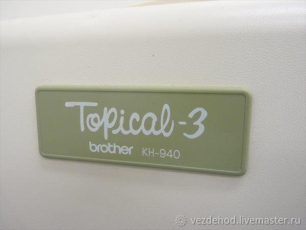 Вязальная машина Бразер КН 940 / 850 – купить в интернет-магазине на Ярмарке Мастеров с доставкой