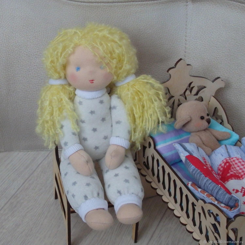 Текстильная кукла Ладушка, Вальдорфские куклы и звери, Балахна,  Фото №1