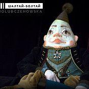 """Куклы и игрушки ручной работы. Ярмарка Мастеров - ручная работа По мотивам """"Алисы"""". Шалтай-Болтай.. Handmade."""