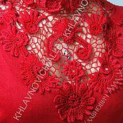 """Блузки ручной работы. Ярмарка Мастеров - ручная работа Блуза """"Пастораль"""" Модель № 698. Handmade."""