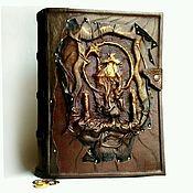 """ручной работы. Ярмарка Мастеров - ручная работа Кожаная книга """"Властелин колец. Две башни"""". Handmade."""