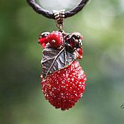 Украшения ручной работы. Ярмарка Мастеров - ручная работа Подвеска «Зимние ягоды» - Летом 2. Handmade.