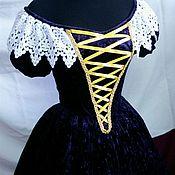 Субкультуры ручной работы. Ярмарка Мастеров - ручная работа Бальное бархатное платье. Handmade.