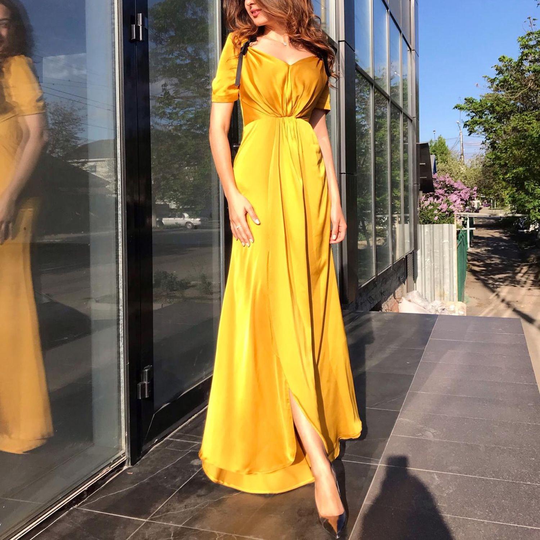 Designer dress, bright dress, floor-length dress !, Dresses, Moscow,  Фото №1