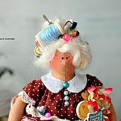 Куклы и игрушки ручной работы. Ярмарка Мастеров - ручная работа Копия работы Тильда-толстушка рукодельница!. Handmade.