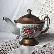 """Посуда ручной работы. Ярмарка Мастеров - ручная работа Чайник """"Английский завтрак"""". Handmade."""